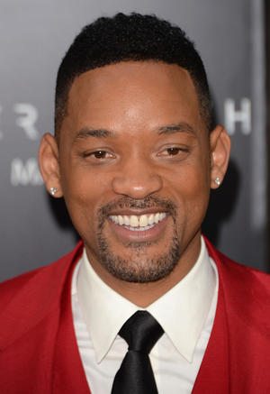 "Will Smith at the New York premiere of ""After Earth."""