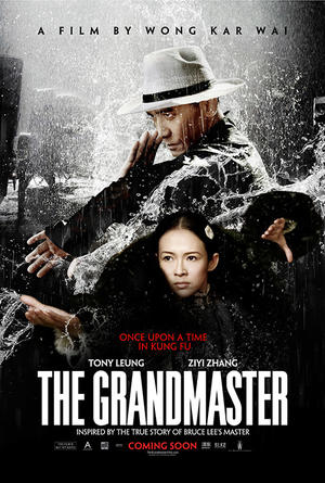 "Poster art for ""The Grandmaster."""