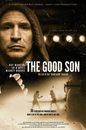 "Poster art for ""The Good Son: The Ray Mancini Story."""