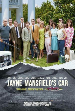 "Poster art for ""Jayne Mansfield's Car."""
