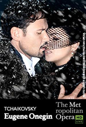 """Poster art for """"The Metropolitan Opera: Eugene Onegin."""""""