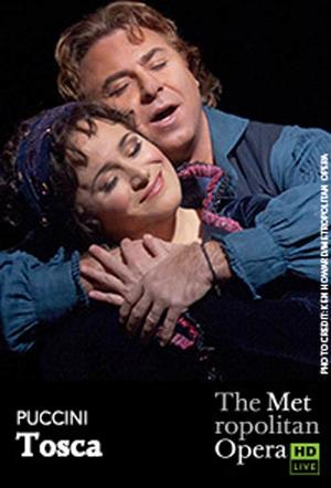 "Poster art for ""The Metropolitan Opera: Tosca."""