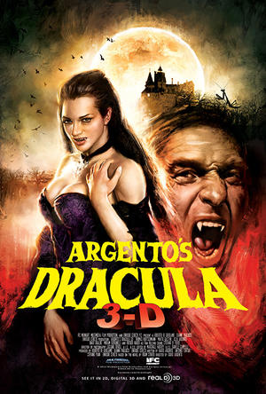 "Poster art for ""Argento's Dracula 3D."""