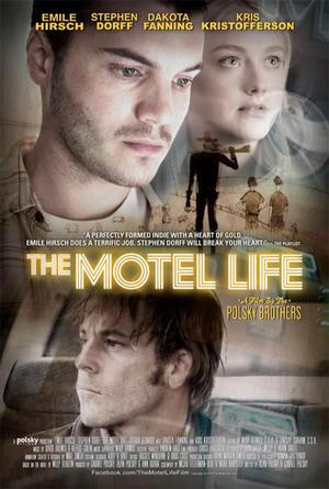 "Poster art for ""The Motel Life."""