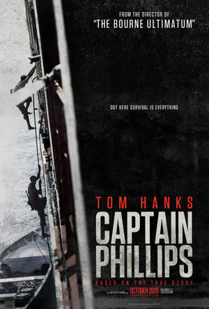 "Poster art for ""Captain Phillips."""
