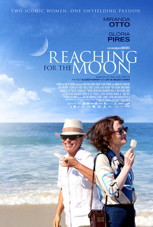 "Poster art for ""Reaching for the Moon."""