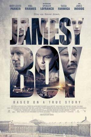 """Poster art for """"Jamesy Boy."""""""
