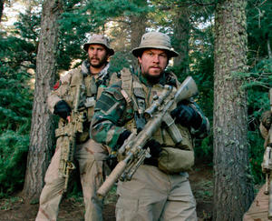 "A scene from ""Lone Survivor."""
