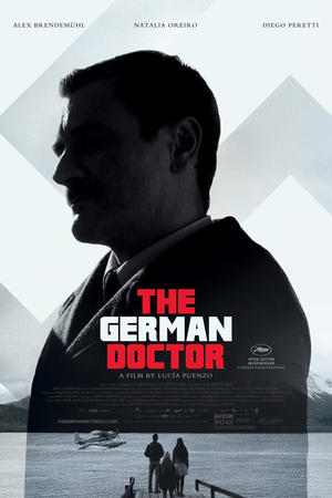 "Poster art for ""The German Doctor."""