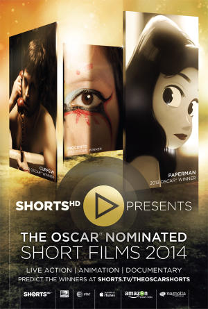 """Poster art for """"Oscar-Nominated Animated Shorts of 2013."""""""