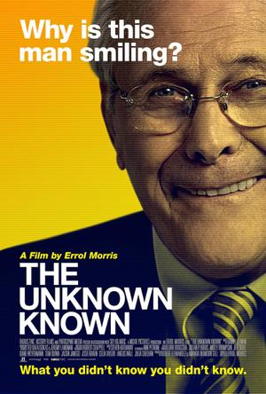 "Poster art for ""The Unknown Known."""