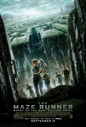 """Poster art for """"The Maze Runner: An IMAX Experience."""""""