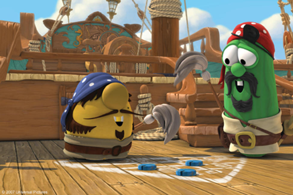 The pirates movie veggie tails