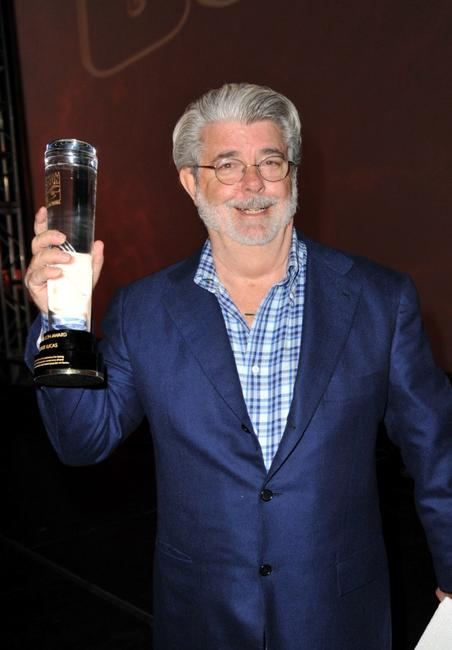George Lucas at the Spike TV's 2008 Scream Awards.