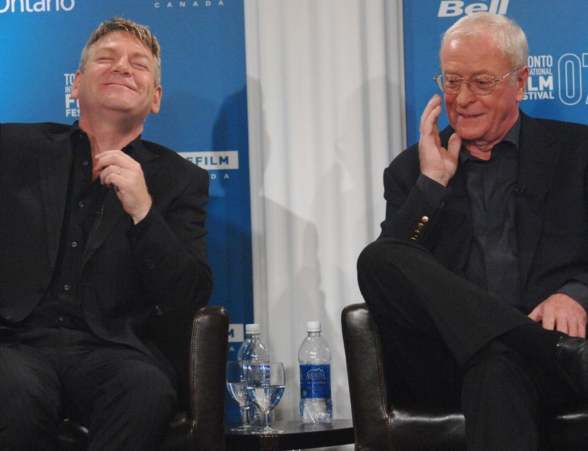 Michael Caine and Kenneth Branagh at the Toronto International Film Festival 2007 for press conference of