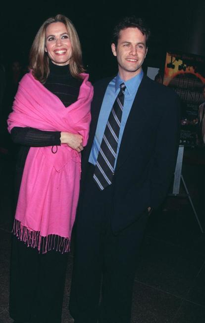 Kirk Cameron and his wife actress Chelsea Noble at the Los Angeles theatrical premiere of