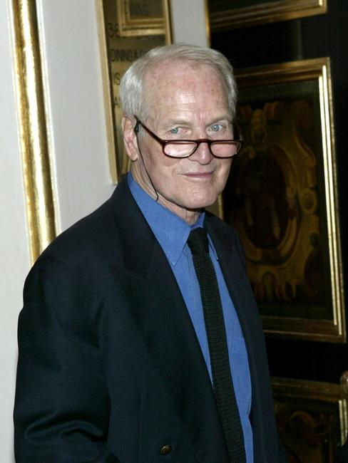 Paul Newman at the National Actors Theater Benefit