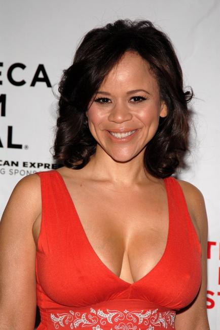 Rosie Perez at the premiere of