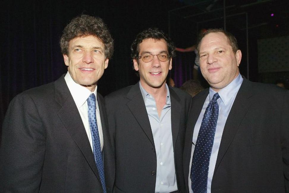 Alan Horn, Todd Phillips and Harvy Weinstein at the after party of the premiere of