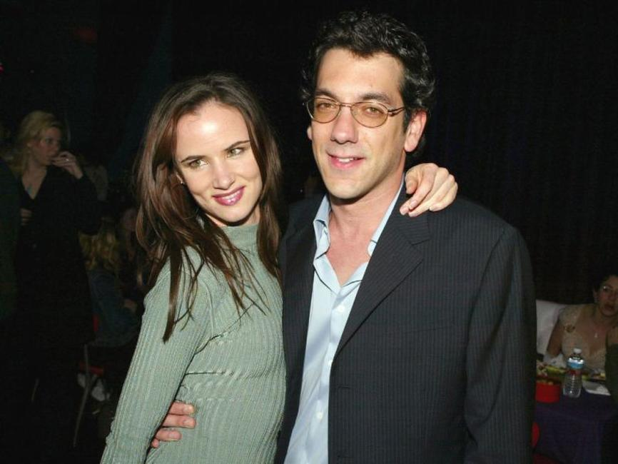 Juliette Lewis and Todd Phillips at the after party of the premiere of