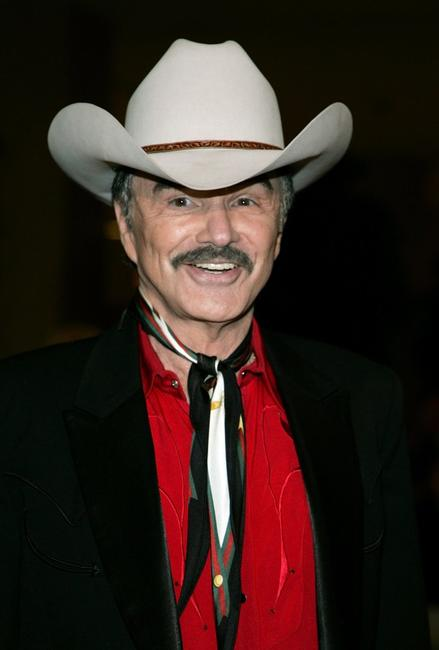 Burt Reynolds at the Golden Boot Awards.