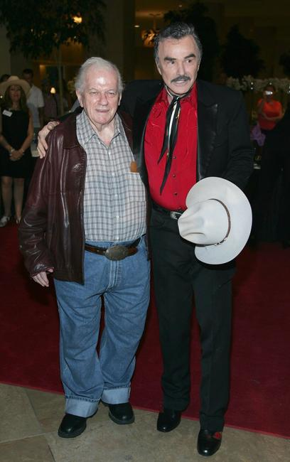 Charles Durning and Burt Reynolds at the Golden Boot Awards.