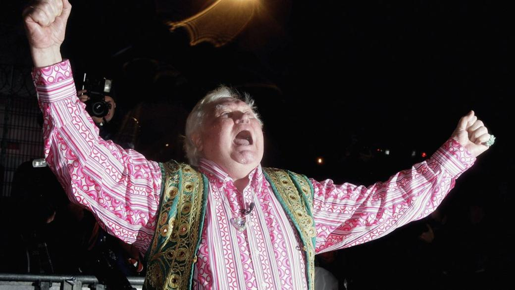 Ken Russell at the Celebrity Big Brother series five at Elstree Studios.