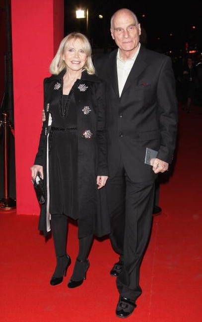 Barbet Schroeder and Bulle Ogier at the Cesar Film Awards 2008.