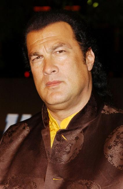 Steven Seagal at the Los Angeles premiere of