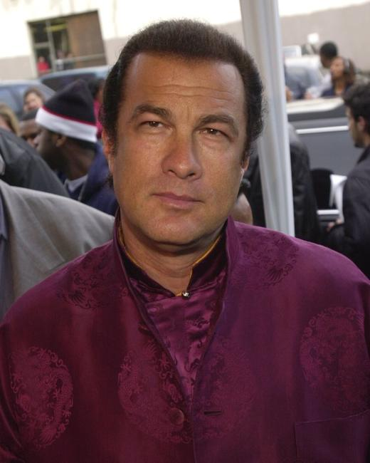 Steven Seagal at the 15th Annual Soul Train Awards.