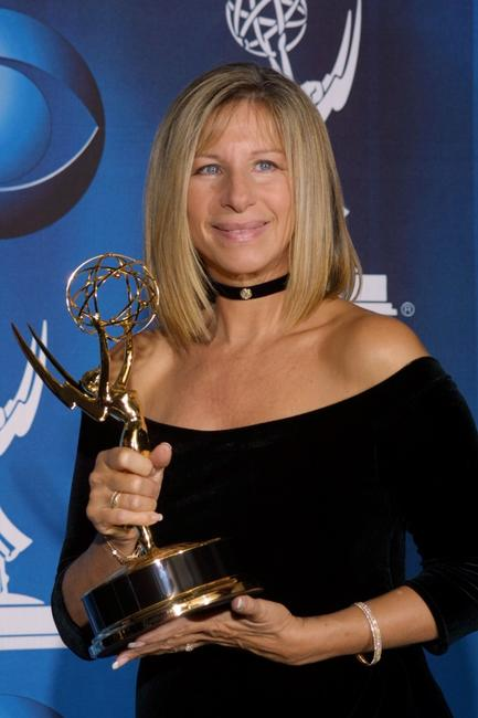 Barbra Streisand at the 53rd Annual Emmy Awards.