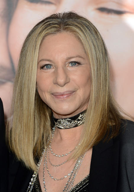 Barbra Streisand at the California premiere of
