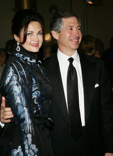 Lynda Carter and husband Robert Altman at the 27th Annual Kennedy Center Honors Gala.