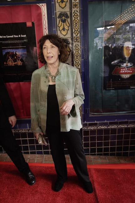 Lily Tomlin at the closing night of the 49th San Francisco International Film Festival.