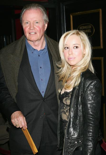Jon Voight and Skyler Shaye at the Warner Bros. Pictures premiere of
