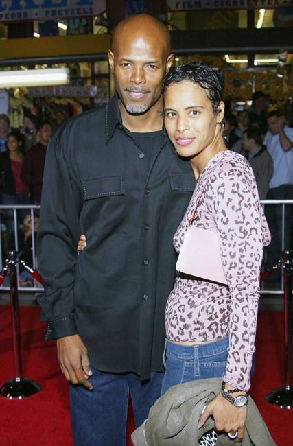 Keenen Ivory Wayans and guest at the El Capitan Theatre for the film premiere of