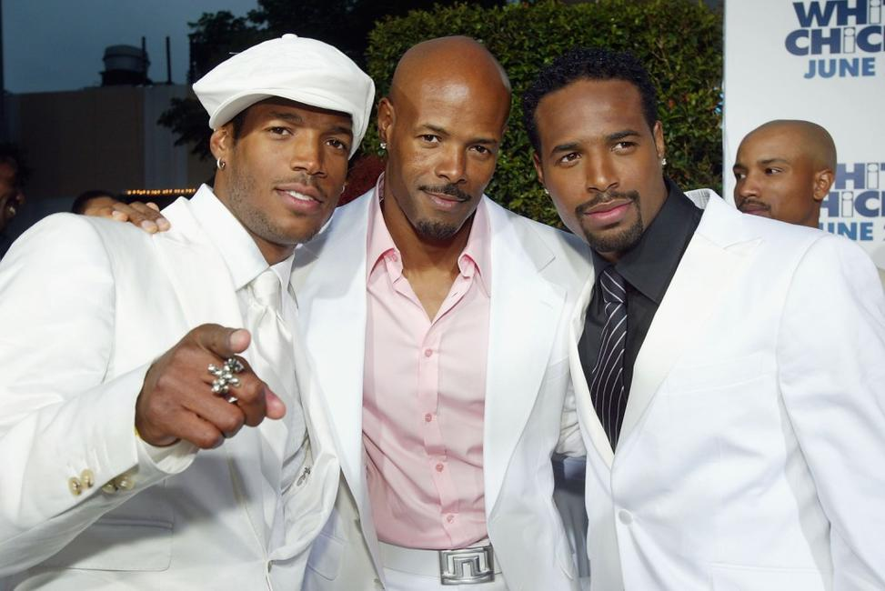 Keenen Ivory Wayans, Marlon Wayans and Shawn Wayans at the Village Theatre for the premiere of Revolution Studios and Columbia Pictures