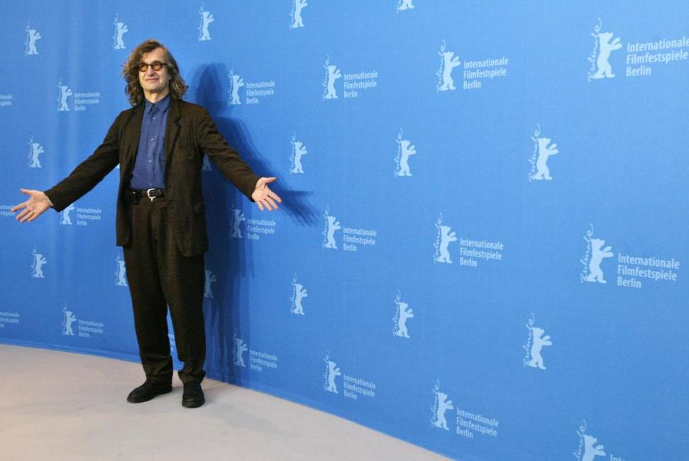 Wim Wenders at the 57th Berlinale International Film Festival photocall of