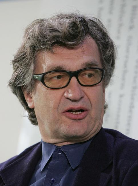 Wim Wenders at the the Frankfurt Book Fair.