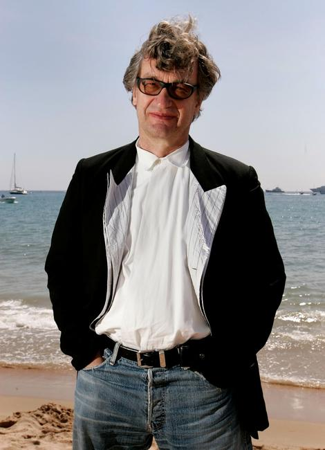 Wim Wenders at the 58th International Cannes Film Festival premiere of
