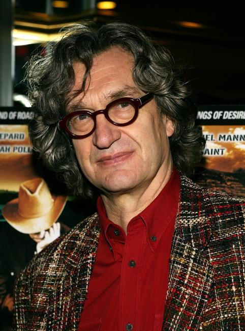 Wim Wenders at the California premiere of