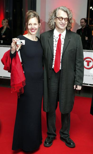 Wim Wenders and his wife Donata at the 20th European Film Awards.