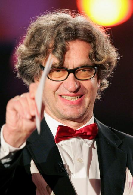 Wim Wenders at the German Film Awards.