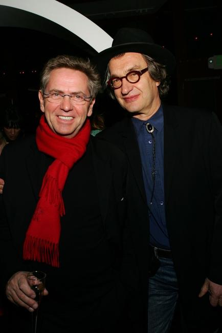 Wim Wenders at the 2006 Sundance Film Festival premiere of