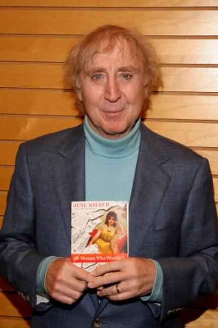 Gene Wilder at the promotion of his book