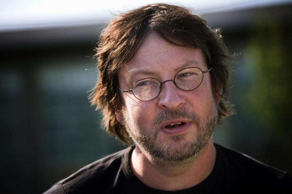 Lars von Trier at the Copenhagen International Film Festival press conference of
