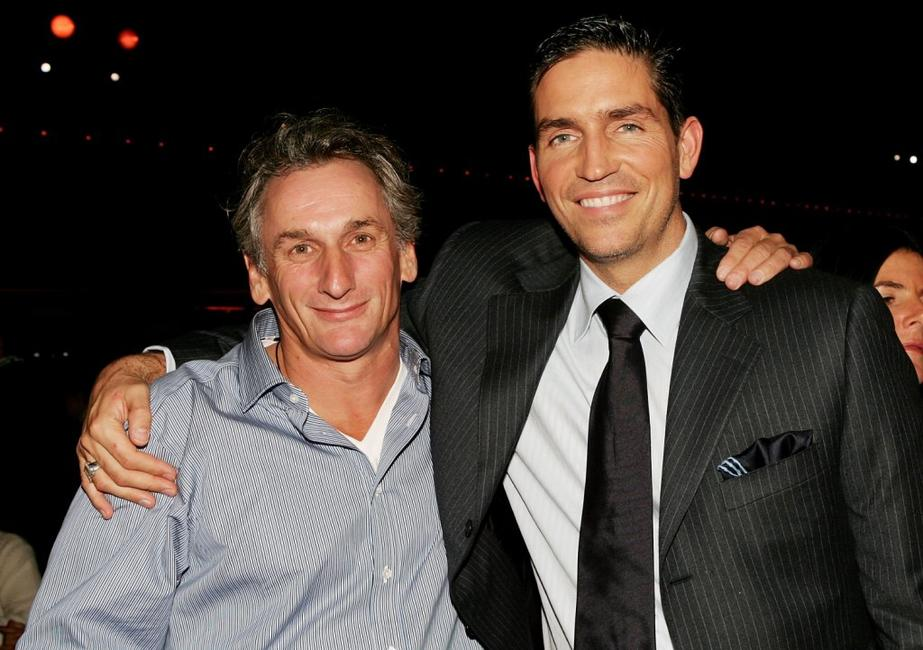 James Caviezel and Matt Craven at the after party for world premiere of