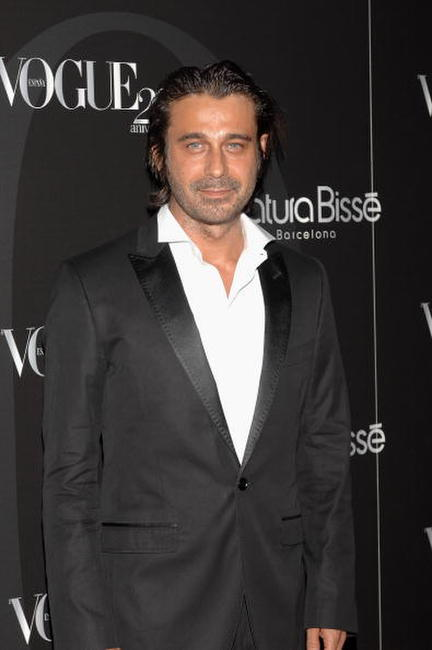 Jordi Molla at the Vogue Magazine 20th anniversary party.