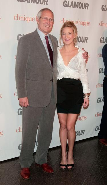 Chevy Chase and Kate Hudson at the Glamour Reel Moments party held at the Directors Guild of America.