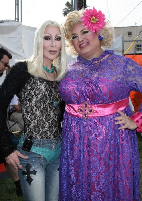 Cher and M.C.Momma at the 37th Annual L.A. Pride Festival.